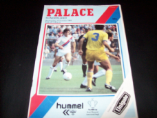 Crystal Palace v Sunderland, 1984/85 [MC]